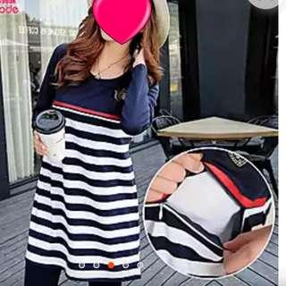 [Instock]Nursing blouse/shirt dress/top/maternity wear