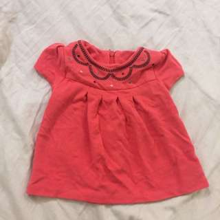 Poney Red Blouse