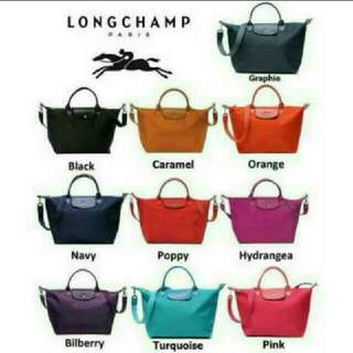 Authentic Long Champ Neo Bag