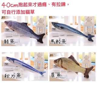 貓薄荷貓草魚
