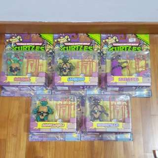 Ninja Turtles Figurines - Classic collection re-released