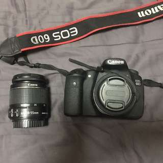 REPOST (PRICE REDUCED) Canon 60D