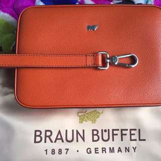 Braun buffel Men Clutch