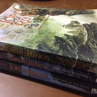 The Lord Of The Rings Trilogy (Complete Set)