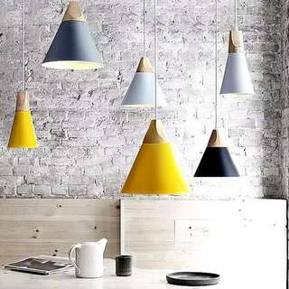 nordic / scandinavian style hanging lights