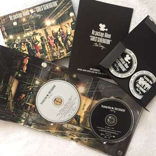 Girls' Generation SNSD The Boys (Re:package) Japan Limited Pressing