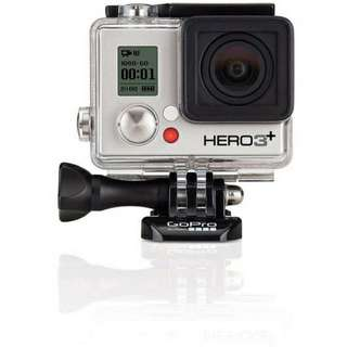 Go Pro HERO3+  Black Edition With External Screen