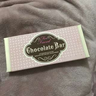 Too Faced Original Chocolate Bar Palette 100% Authentic