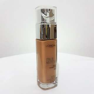 Loreal TRUE MATCH Liquid Foundation Shade N7 Nude Ambre