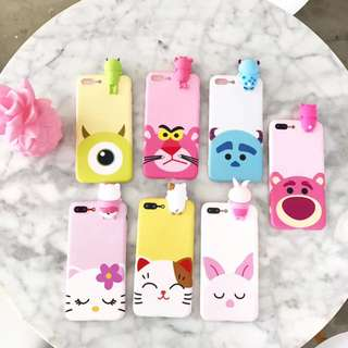 3D Disney character iphone casing
