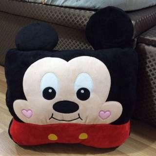 Sanrio Mickey Mouse Cushion / Hand Warmer