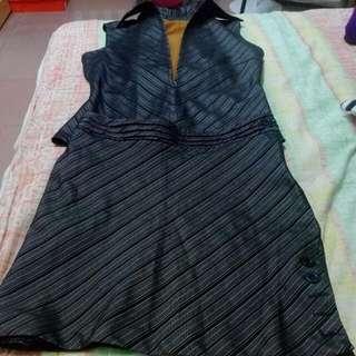 #8月免購物直接送 修身OL套裝