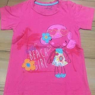 Kaos Anak Pink