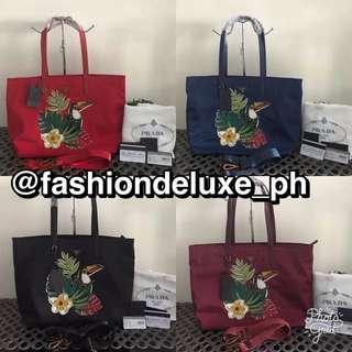 Prada Nylon With Sling Bag