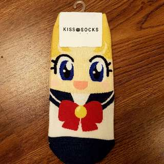 Sailor Moon character socks