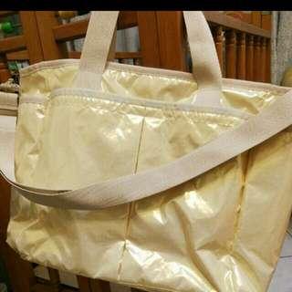 Lesportsac 全新媽媽包 登機袋