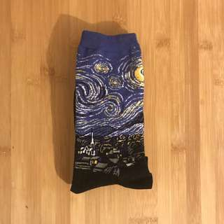 Van Gogh Starry Night Socks