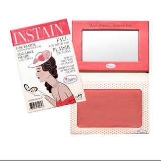 theBalm INSTAIN 5.5g Colour: Swiss Dot (Peach)