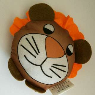 Lion Head Plush Toy