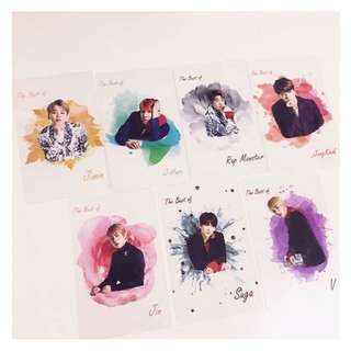[PREORDER] BTS Unofficial Transparent Photocard