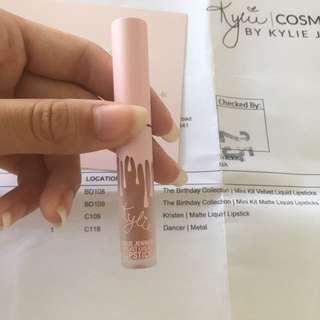 Limited Edition Kylie Cosmetics Birthday Suit Lippy
