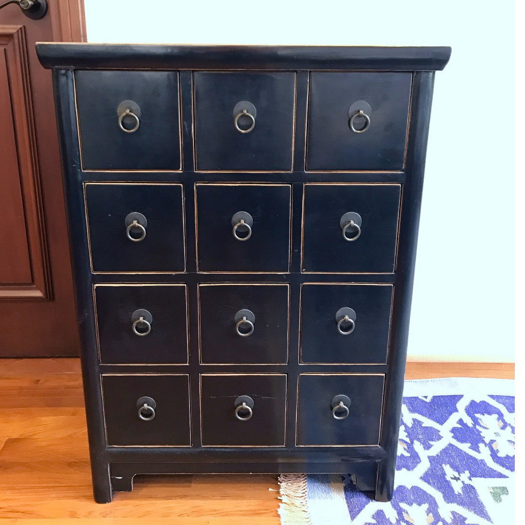 2 Chinese Medicine Cabinets Home Furniture Furniture Cabinets