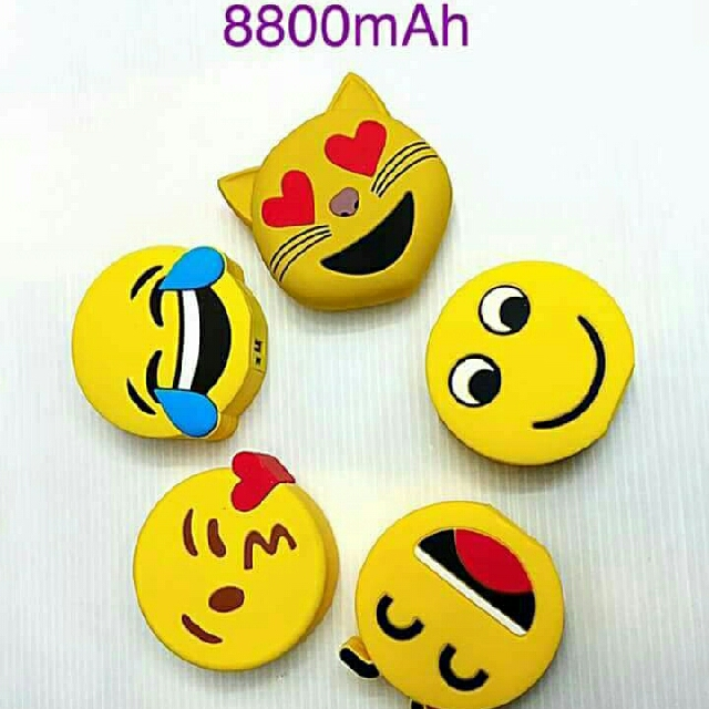 ♡♡♡ Emoji Powerbank ♡♡♡