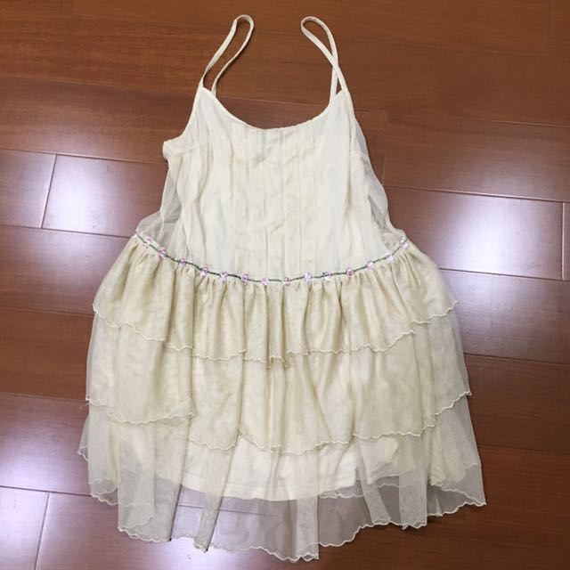 日本下北澤購入古著復古蕾絲吊帶洋裝 TOPSHOP