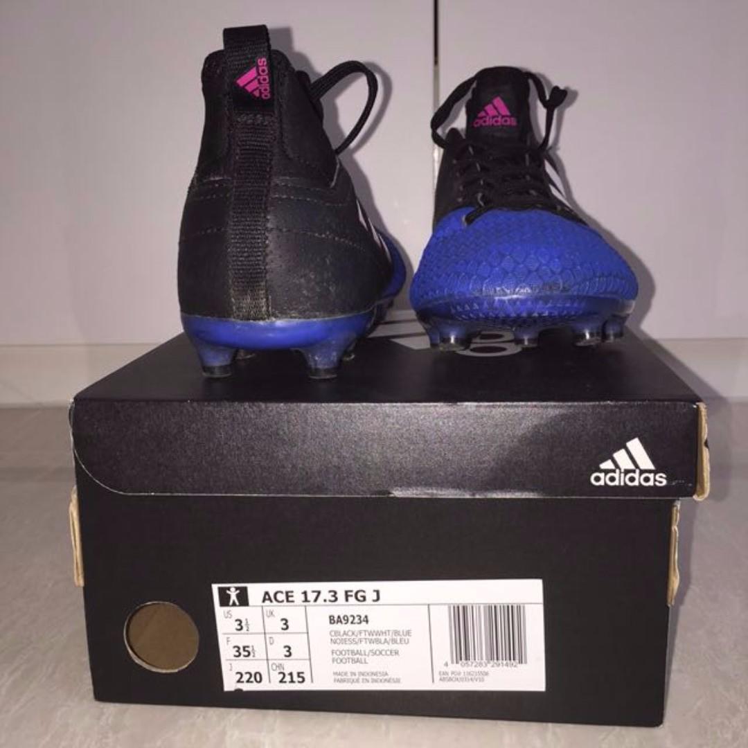 8a2dffcc18a Adidas Ace 17.3 FG Junior   Kids   Boys football boots   soccer ...