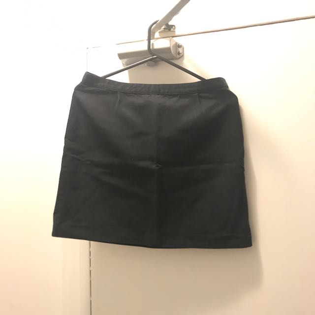 APC Navy Mini Skirt