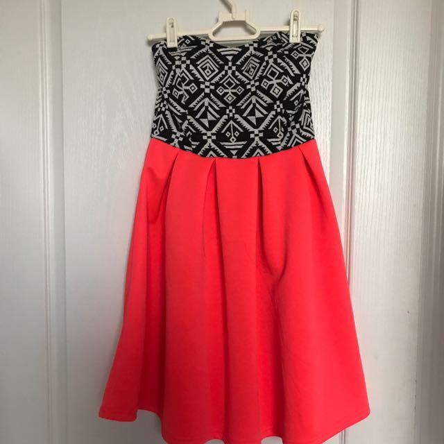 ARDENE strapless dress