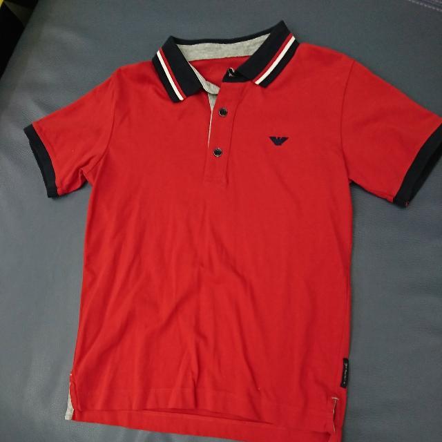 Armani 男童polo衫 8號