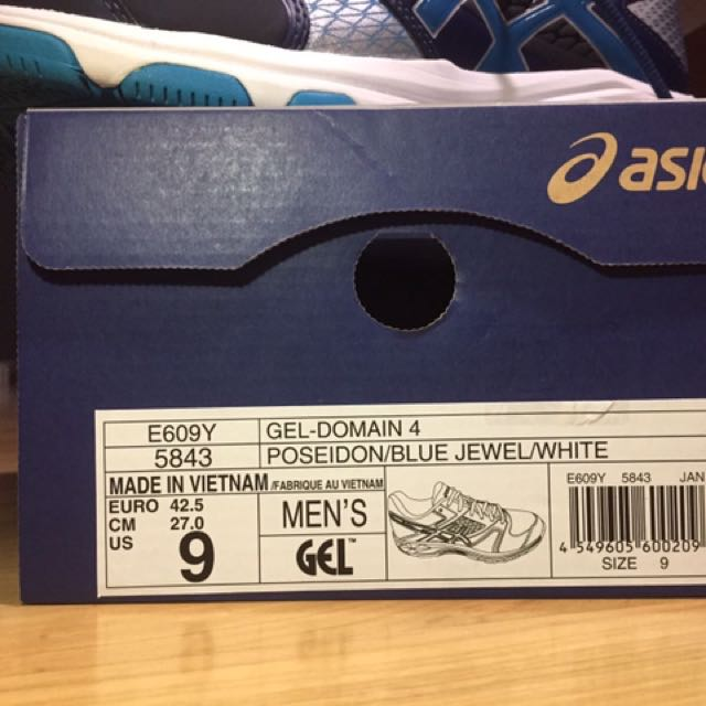 ASICS Gel Domain IV, Sports, Sports Apparel on Carousell