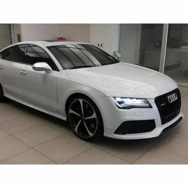 Audi Rs7 S Line Quattro 40 V8 Bi Turbo 560hp 2014 Unreg Cars Cars