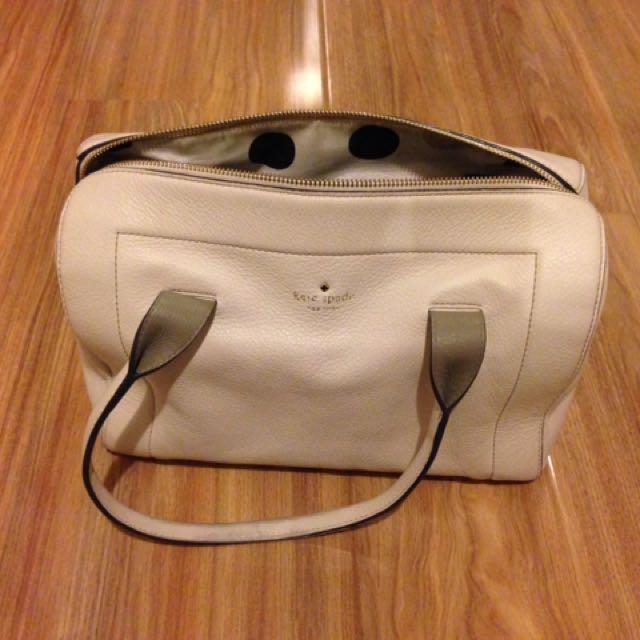 Authentic Kate Spade Cream Bag