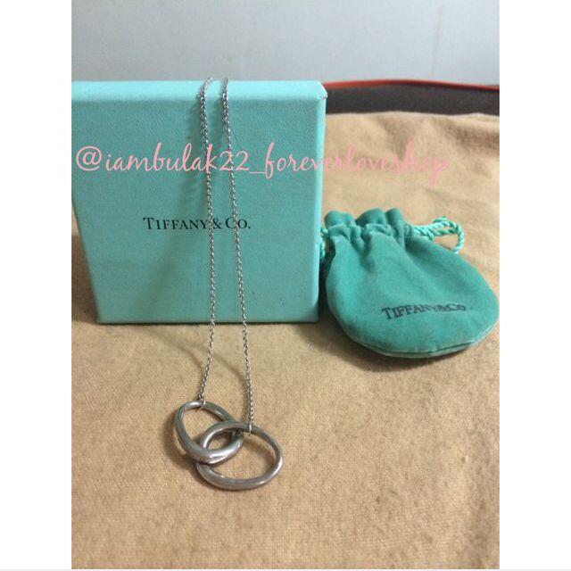 Authentic Tiffany & Co. Infinity Necklace