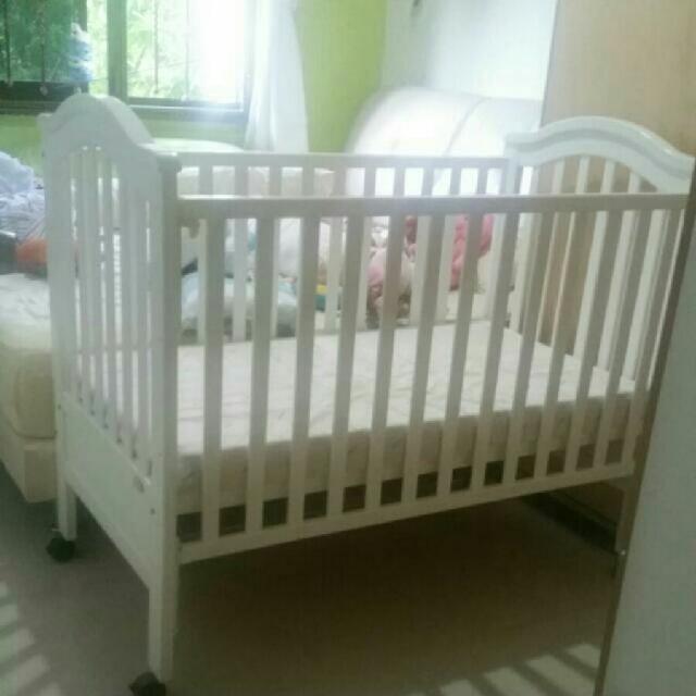 62179591ccdb5 BabyOne Regine Baby Cot