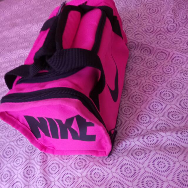 Black And Pink Nike Lunch bag