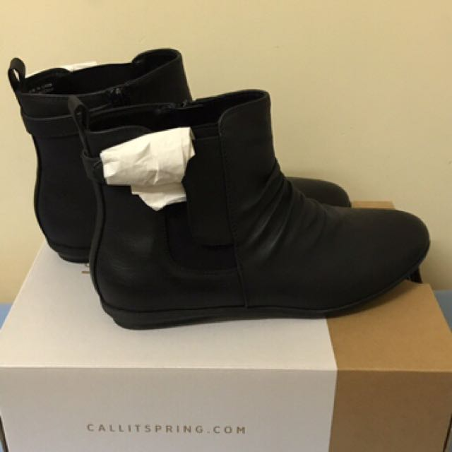 Black Booties Call It Spring
