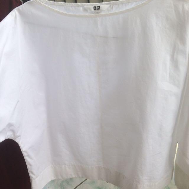blouse uniqlo