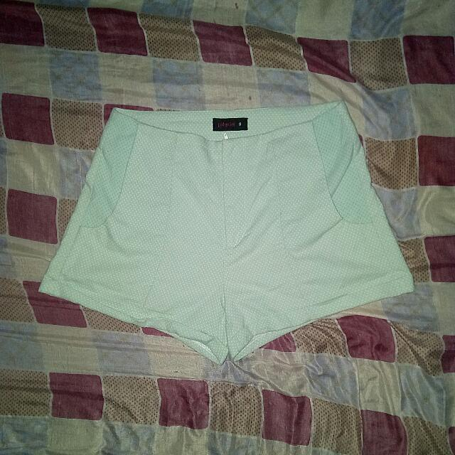 Blue Green Pilgrim Shorts