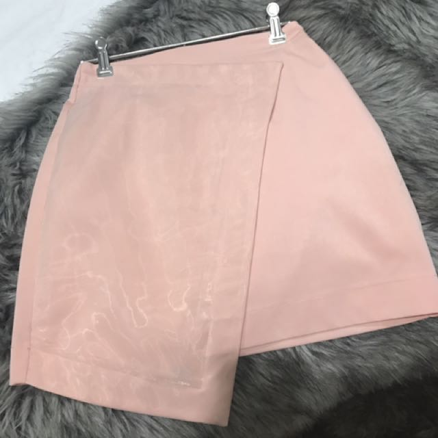 Forecast Blush Colour Skirt