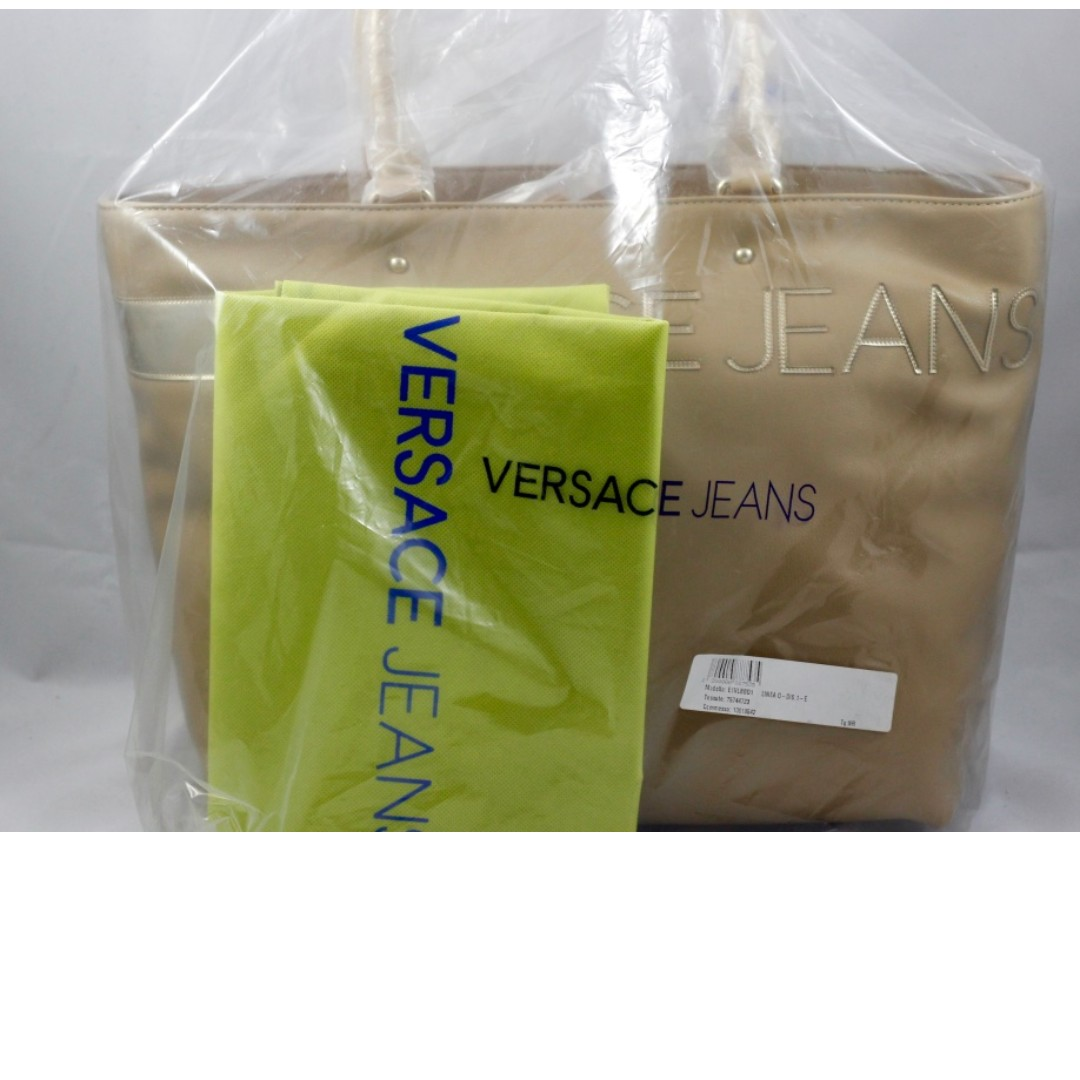 BRAND NEW - Versace Jeans Women's Tote Bag Beige