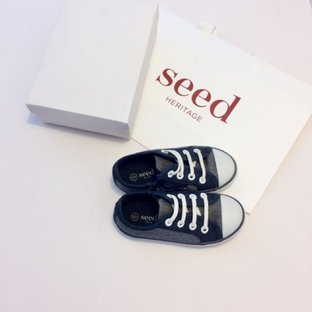 Male Toddler Seed Heritage Shoes