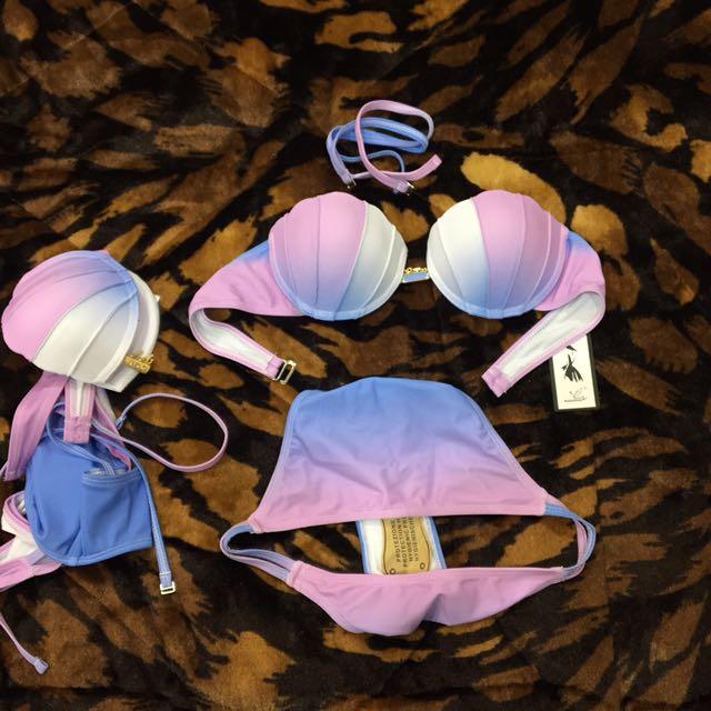 Brand New Mermaid Pastel Swimsuit