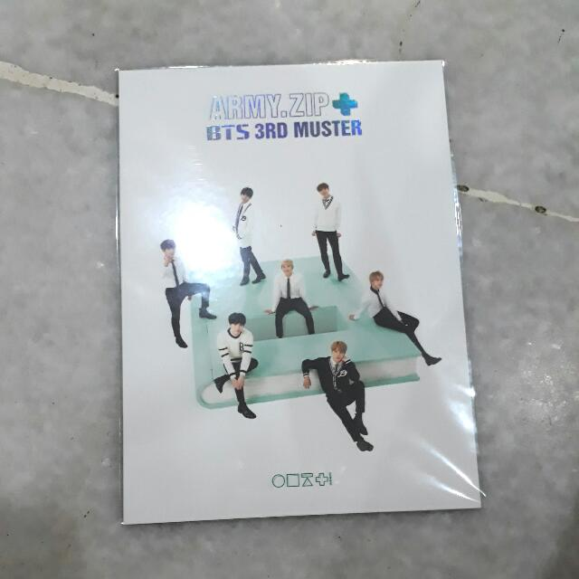 BTS 3RD MUSTER DVD LIMITED STANDEE