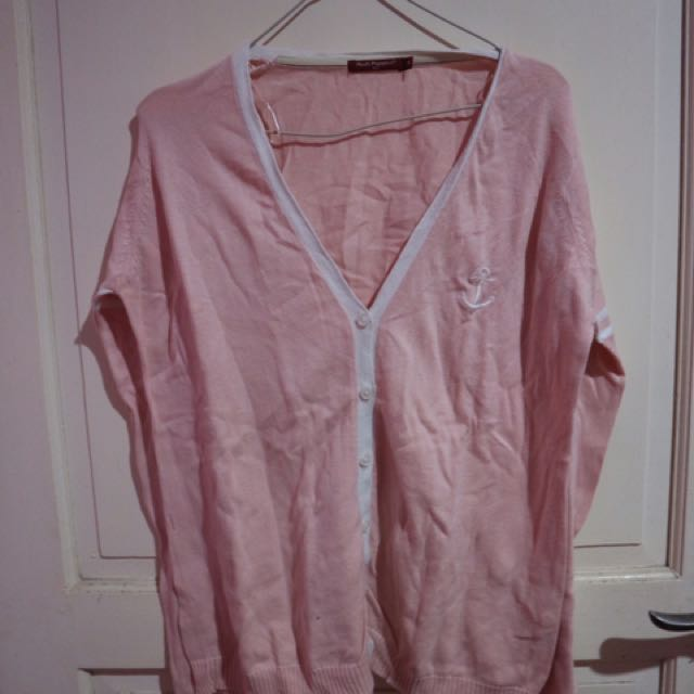Cardigan Hush Puppies Pink