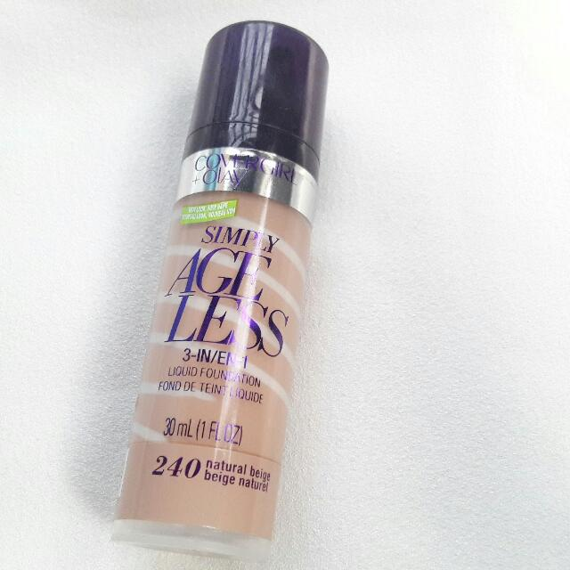 Covergirl x Olay Simply Ageless 2 In 1 Foundation (240 Natural Beige)
