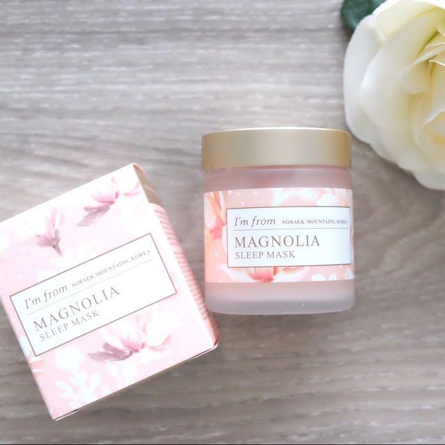[I'm From] Magnolia Sleep Mask