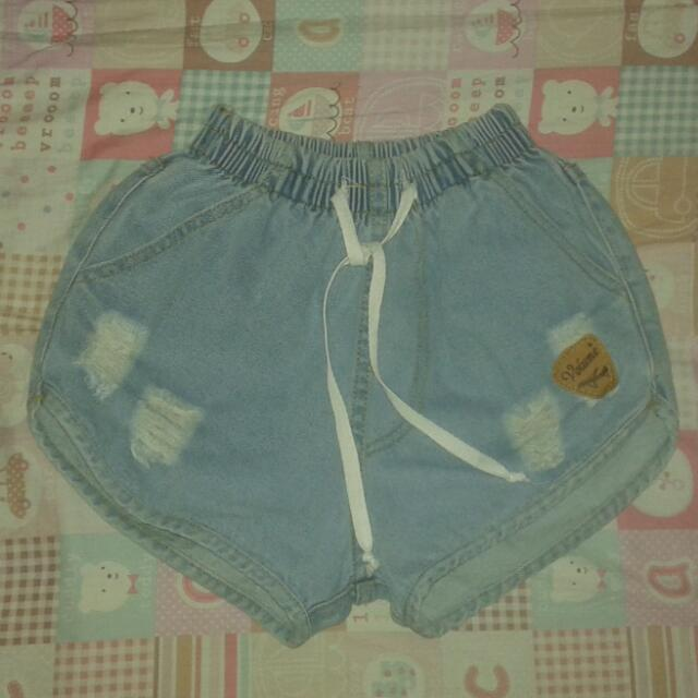 Denim Boxer Shorts